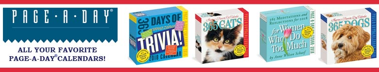 All your favorite Page-A-Day calendars from Workman!