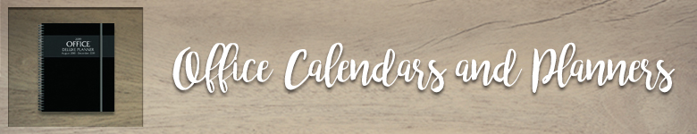 Shop our selection of Office Planners and Calendars
